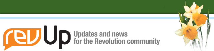 revUp - Updates and news for the Revolution community